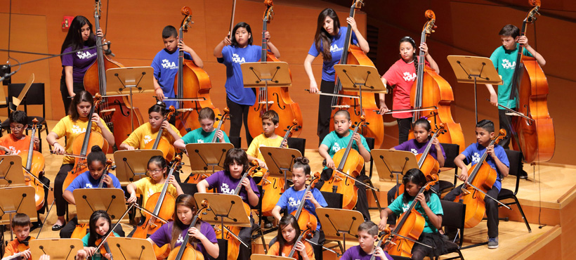 YOLA (Youth Orchestra LA) 10th Anniversary Tour